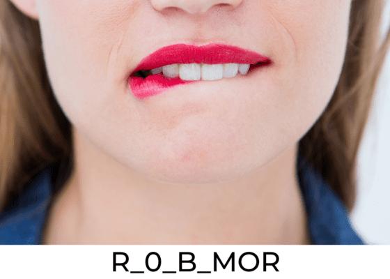 Les morsures de lèvres : R_0_B_MOR
