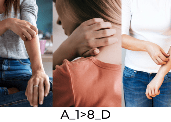 Les microdémangeaisons du corps
