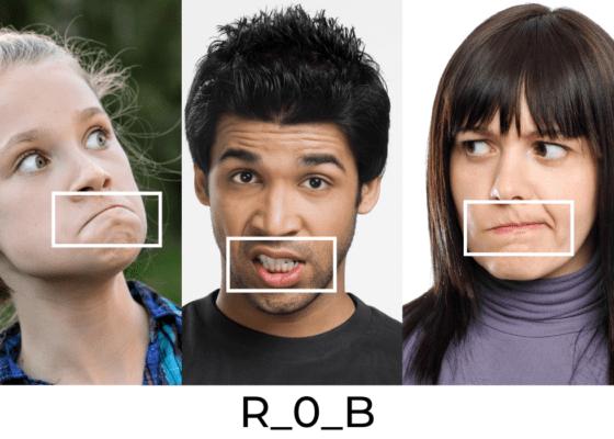 Les micromouvements de la bouche : R_0_B