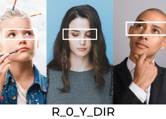 Les directions du regard : R_0_Y_DIR